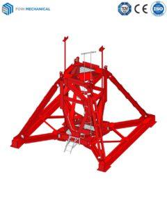 Dầm Khung áp trọng của cẩu tháp