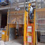 Bảo trì sau bán hàng van thang lồng