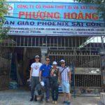 cẩu tháp Foin thăm khách hàng Việt Nam